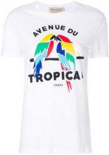 Être Cécile - Avenue du Tropical T-shirt - women - Cotton - XS, S, M, L - WHITE