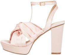 BIANCO Satin Strap Sandals Women Pastel