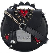 Salar - Borsa con borchie - women - Leather/Suede - OS - BLACK