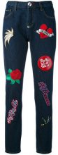 Philipp Plein - Jeans 'Teddy Boss' - women - Cotton/Polyester - 26, 28, 29 - BLUE
