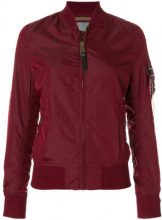 Alpha Industries - Giacca 'MA-1 TT' - women - Nylon - M - RED