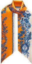 Fendi - Bandeau 'Heritage Maxi Wrappy' - women - Silk - OS - YELLOW & ORANGE