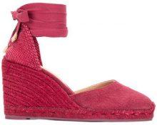 Castañer - Carina espadrilles - women - Cotton/Leather/rubber - 36, 37, 38, 39, 40 - RED