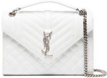 Saint Laurent - Borsa a spalla - women - Leather - OS - WHITE