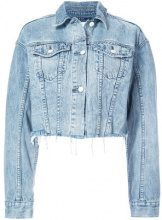 Ksubi - Daggerz cropped denim jacket - women - Cotton - XS, S, M - BLUE