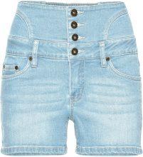 Shorts di jeans a vita alta (Blu) - RAINBOW