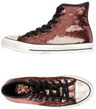 CONVERSE ALL STAR CT AS HI SEQUINS DISTRESSED - CALZATURE - Sneakers & Tennis shoes alte - su YOOX.com