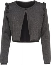 ONLY Short Knitted Cardigan Women Black