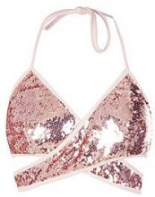 Isobella Sequin Cut Out Bralet