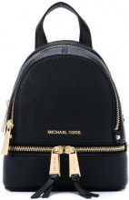 Michael Michael Kors - Rhea mini backpack - women - Leather/Polyester - OS - Nero