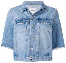 Dondup - cropped denim jacket - women - Cotton - M, XS, S - BLUE
