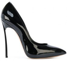 Casadei - Pumps 'Blade' - women - Leather/Nappa Leather/Patent Leather - 35, 35.5, 37.5, 40 - BLACK