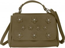Borsa con fiori (Verde) - bpc bonprix collection