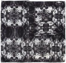 Thomas Wylde - Metamorphosis printed scarf - women - Silk - OS - Nero