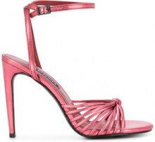 Senso - Ora sandals - women - Kid Leather/Synthetic Resin - 35, 36, 37, 38, 39, 40, 41 - RED