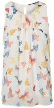 VERO MODA Butterfly Sleeveless Top Women White