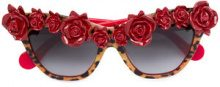 Anna Karin Karlsson - Occhiali da sole - women - Acetate - OS - RED
