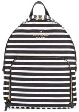 Kate Spade - striped backpack - women - Polyester - OS - BLACK