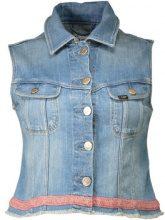 Giacca in jeans Lee  L547PCKI GILET Donna BLU BLUE SIGN