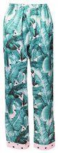 Evie Leaf Polka Dot Print Trouser
