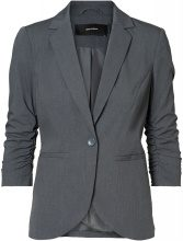 VERO MODA 3/4 Sleeved Blazer Women Grey