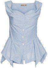 Jour/Né - Top rigato - women - Cotton - 38, 34 - BLUE