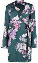 Megan Premium Oriental Floral Wrap Kimono Dress