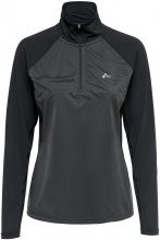 ONLY Half Zip Sports Top Women Black