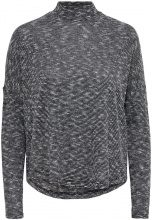 ONLY Highneck Long Sleeved Top Women Grey