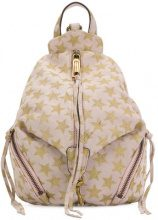 Rebecca Minkoff - Star patterned backpack - women - Polyester/Calf Suede - OS - NUDE & NEUTRALS