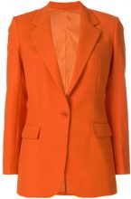 Dondup - classic single-breasted blazer - women - Polyester/Spandex/Elastane/Acetate/Wool - 40, 42, 44 - YELLOW & ORANGE
