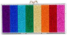 Charlotte Olympia - Borsa clutch con motivo arcobaleno 'Penelope' - women - Acrylic - OS - Multicolore