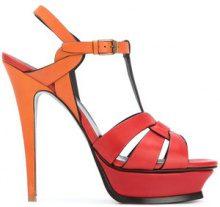 Saint Laurent - Classic Tribute 105 sandals - women - Leather - 35, 35.5, 36.5, 37.5, 39 - RED