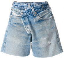 R13 - Shorts asimmetrici - women - Cotton - S, M, L - BLUE