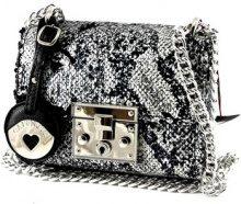 Borsa Shopping Café Noir  BS003 multi nero borsa donna bauletto pochette paillettes