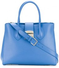 Furla - Borsa Tote 'Metropolis' - women - Leather - One Size - BLUE