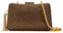 Serpui - embellished clutch - women - Polyester - OS - Marrone