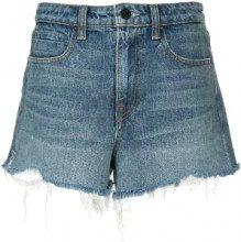 Alexander Wang - Shorts denim - women - Cotone - 29, 24, 25, 26, 27, 28 - Blu
