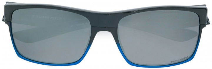 Oakley - Occhiali da sole rettangolari - men - Plastic - 60 - di colore nero.  Occhiali da sole rettangolari f5a501a285