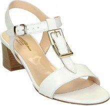 Sandali Leonardo Shoes  Sandali con tacco in pelle artigianali