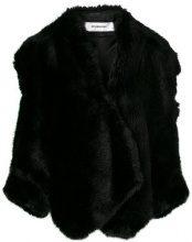 Chalayan - Giacca con spalla scoperta - women - Acrylic/Polyester/Viscose - 40, 42, 44, 46 - BLACK