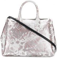 Gum - Hawaii floral print tote bag - women - Polyurethane - OS - GREY
