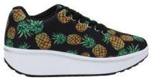 Sneakers fitness con motivo ad ananas