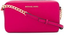 Michael Michael Kors - Jet Set small crossbody bag - women - Leather - OS - PINK & PURPLE