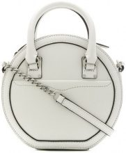 Rebecca Minkoff - Borsa a tracolla 'Bree Circle' - women - Leather - OS - WHITE