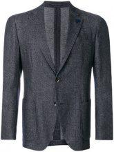Lardini - Blazer con tasche a toppa - men - Cotton/Wool/Polyamide/Polyester - 50, 52, 54 - BLUE