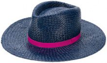 Paul Smith - Cappello intrecciato - women - Straw - M - BLUE