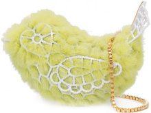 Natasha Zinko - borsa tracolla uccello - women - Acetate - OS - Giallo & arancio