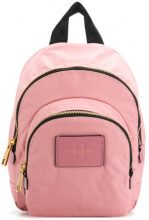 - Marc Jacobs - mini double zip backpack - women - Nylon - Taglia Unica - Rosa & viola