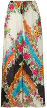 Gucci - Pantaloni a palazzo stampati - women - Viscose/Silk/Acetate - 38, 40, 44 - Multicolore